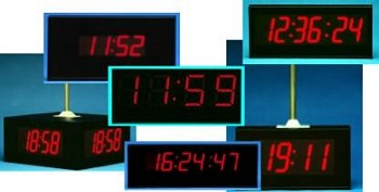 Stand Alone Clocks